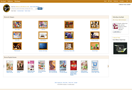 Screenshot of  Hobbies & Crafts Reference Center homepage
