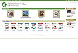 screenshot of Small Business Reference Center homepage