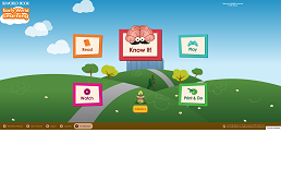 screenshot of WorldBook Early World of Learning homepage